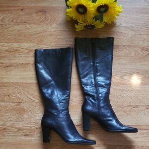 Nine West leathér boots